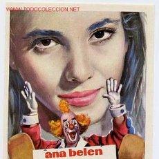 Cine: ZAMPO Y YO , ANA BELEN , SENCILLO , ORIGINAL , SIN CINE , PMD 210. Lote 26023493