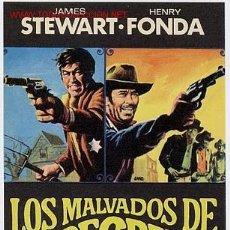 Cine: LOS MALVADOS DE FIRECREEK , SENCILLO , SIN CINE , PMD 252. Lote 262415365