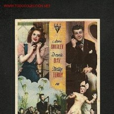 Cine: ADORABLE MENTIROSA (ANNE SHIRLEY, DENNIS DAY). Lote 1253037