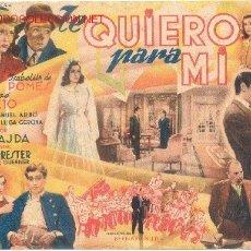 Cine: TE QUIERO PARA MI CINE ESPAÑOL. Lote 27570490