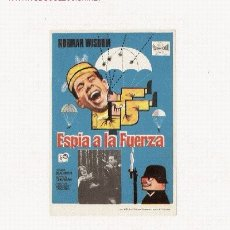 Cine: ESPIA A LA FUERZA. Lote 1492977