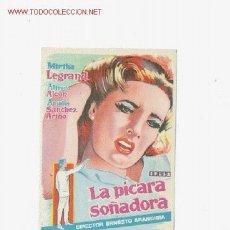 Cine: LA PICARA SOÑADORA. Lote 1492982