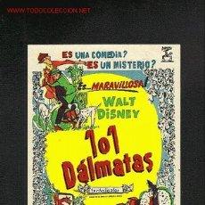 Cine: 101 DALMATAS (WALT DISNEY) (DIBUJOS ANIMADOS). Lote 1629515