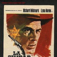 Cine: LA CIUDAD SIN LEY (RICHARD WIDMARK, LENA HORNE) (WESTERN). Lote 1633213