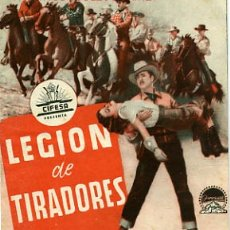 Cine: LEGION DE TIRADORES, DOBLE , PM3608. Lote 18464236