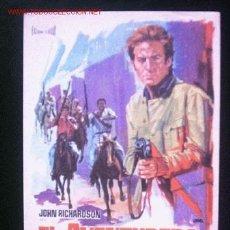 Cine: EL AVENTURERO DE GUAYNAS, JOHN RICHARDSON, CINES CABRERA Y CERVANTES. Lote 257662425