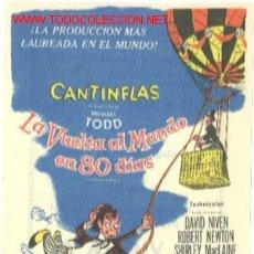 Cine: CANTINFLAS - LA VUELTA AL MUNDO EN 80 DIAS. Lote 1784041