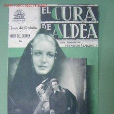 Cine: EL CURA DE ALDEA - CIFESA. Lote 10311344