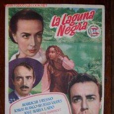 Cine: LA LAGUNA NEGRA. Lote 4292823