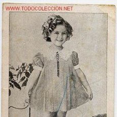 Cine: SHIRLEY TEMPLE , HOMENAJE , VARIAS PELICULAS AL DORSO 1936 , TARJETA. Lote 17780088