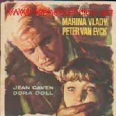 Cine: SOFIA Y EL CRIMEN. Lote 3960300