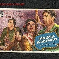 Cine: HOMBRES INTREPIDOS (JOHN WAYNE, THOMAS MITCHEL, BARRY FITZGERALD). Lote 2409643