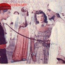 Cine: SIMBAD EL MARINO - DOUGLAS FAIRBANKS - MAUREEN O´HARA - ANTHONY QUINN - DORSO PROMOCIÓN PELÍCULA. Lote 15362592