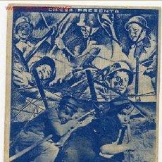 Cine: HOMBRES DEL MAÑANA , 1934 CIFESA , RARO, SI TIENE CINE IMPRESO , S240. Lote 20075787