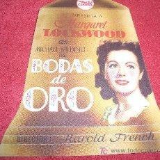Cine: BODAS DE ORO. Lote 3030126