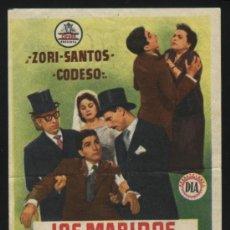 Cine: P-2905- LOS MARIDOS NO CENAN EN CASA (TOMÁS ZORI - FERNANDO SANTOS - MANOLO CODESO). Lote 295853328