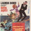 Cine: 007JAMES BOND.AL SERVICIO SECRETO DE SU MAJESTAD.PROGRAMA DE MANO CON PROPAGANDA.. Lote 43985686