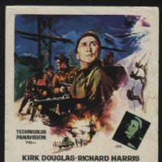 Cine: P-8166- LOS HEROES DE TELEMARK (THE HEROES OF TELEMARK) KIRK DOUGLAS . RICHARD HARRIS. Lote 24976940
