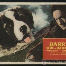 Foglietti di film di film antichi di cinema: P-2282- BARRY HEROE DEL SAN BERNARDO (CINEMA PRINCIPAT - ANDORRA LA VELLA) PIERRE FRESNAY. Lote 25090510