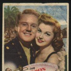 Cine: P-2953- JUEGO DE PASIONES (THRILL OF A ROMANCE) (CINE CARVAJAL) VAN JOHNSON - ESTHER WILLIAMS. Lote 25109326