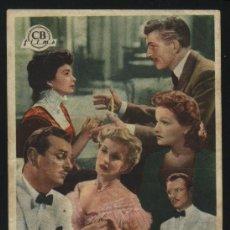 Cine: P-4386- EL TORBELLINO DE LA VIDA (TRIO) (ODEON CINEMA - CANET DE MAR) ANNE CRAWFORD. Lote 25139375