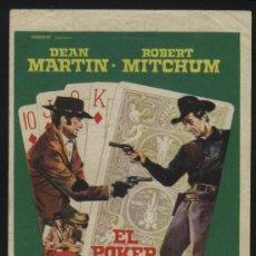 Cine: P-4251- EL POKER DE LA MUERTE (FIVE CARD STUD (5 CARD STUD)) ROBERT MITCHUM - DEAN MARTIN. Lote 25165672