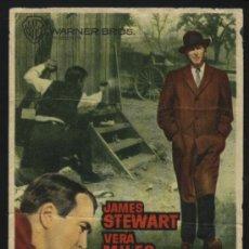 Cine: P-3559- F.B.I. CONTRA EL IMPERIO DEL CRIMEN (THE FBI STORY) CINES MODERNO Y VILADECANS JAMES STEWART. Lote 25198758