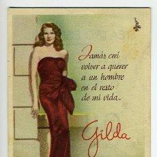 Cine: GILDA , SENCILLO , S1350. Lote 14563604