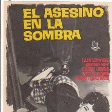 Cine: EL ASESINO EN LA SOMBRA. Lote 15710798