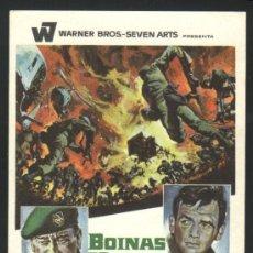 Cine: P-8751- BOINAS VERDES (THE GREEN BERETS) JOHN WAYNE - DAVID JANSSEN - JIM HUTTON - ALDO RAY. Lote 26112903