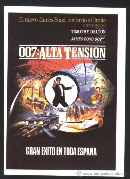 P-3083- 007: ALTA TENSION (TIMOTHY DALTON - MARYAM D'ABO - JEROEN KRABBÉ - JOE DON BAKER) (Cine - Folletos de Mano - Acción)
