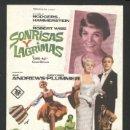 Cine: P-0821- SONRISAS Y LAGRIMAS (THE SOUND OF MUSIC) CHRISTOPHER PLUMMER - JULIE ANDREWS. Lote 168267314