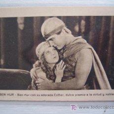 Cine: FOLLETO DE MANO TARJETA - BEN HUR - CINE MUDO. Lote 10660140