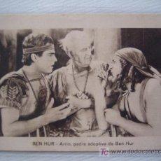 Cine: FOLLETO DE MANO TARJETA - BEN HUR - CINE MUDO. Lote 10660384