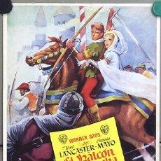 Cine: EL HALCON Y LA FLECHA PROGRAMA SENCILLO GRANDE WARNER BURT LANCASTER VIRGINIA MAYO. Lote 10692435