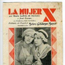 Cine: LA MUJER X, METRO , TRIPLE CON CUPON METRO , S1430. Lote 16095753