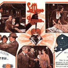 Cine: PROGRAMA DE CINE (ES FACSIMIL) LA MANO ASESINA. Lote 10791077