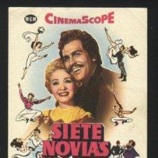 Cine: P-4776- SIETE NOVIAS PARA SIETE HERMANOS (SEVEN BRIDES FOR SEVEN BROTHERS) CON CINEMASCOPE. Lote 186037588