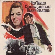 Cine: LOS HEROES ESTAN MUERTOS - PROGRAMA DE MANO-COLECCION CINE.UNIVERSAL FILMS. Lote 13073462