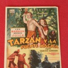Cine: R K O RADIO FILMS PRESENTA.TARZAN Y LA FUENTE MAGICA.LEX BARKER, BRENDA JOYCE.AÑO 1953. Lote 23193955