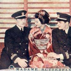 Cine: MADAME BUTTERFLY EE.UU.1932 (FOLLETO DE MANO TARJETA ORIGINAL ) PARAMOUNT. Lote 24154544