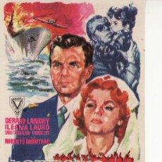 Cine: HORIZONTE EN LLAMAS- COLECCION -PROGRAMAS DE CINE Y MAS EN RASTRILLOPORTOBELLO. Lote 24621092