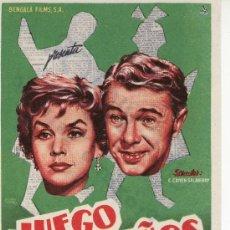 Cine: JUEGO DE NIÑOS.PROGRAMAS DE CINE Y MAS EN RASTRILLOPORTOBELLO. Lote 24587102