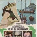 Cine: LA LUZ DEL FIN DEL MUNDO.PROGRAMA DE CINE DE 1971.COLECCIONALOS...ESTE Y MAS EN RASTRILLOPORTOBELLO. Lote 36527568