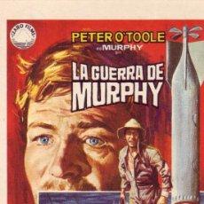 Cine: LA GUERRA DE MURPHY- PROGRAMA DE CINE -COLECCIONALOS...ESTE Y MAS EN RASTRILLOPORTOBELLO. Lote 11153840