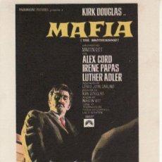 Cine: MAFIA PROGRAMAS DE CINE Y MAS EN RASTRILLOPORTOBELLO. Lote 25113702