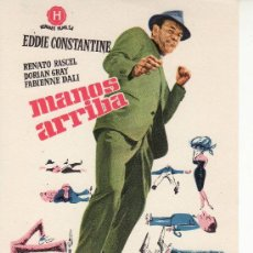 Cine: MANOS ARRIBA- MIRE MAS PROGRAMAS DE CINE EN RASTRILLOPORTOBELLO-COLECCIONALOS!. Lote 21959381