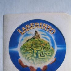 Cine: DENTRO DEL LABERINTO LABYRINTH- FOLLETO DE MANO ADHESIVO DEL ESTRENO - DAVID BOWIE. Lote 36168777
