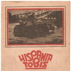 Cine: LA CAMPAÑA DE POLONIA PROGRAMA DOBLE HISPANIA TOBIS DOCUMENTAL ALEMAN SEGUNDA GUERRA MUNDIAL. Lote 11417198