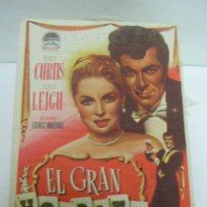 Cine: + EL GRAN HOUDINI 1957 CINE VENECIA. UN PEQUEÑO AGUJERO. Lote 11428483